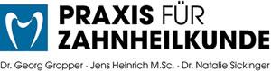 Praxis für Zahnheilkunde Gropper Heinrich Sickinger Logo